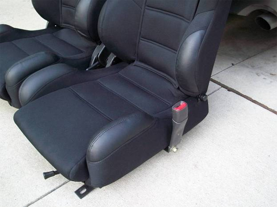 Mustang Corbeau Seats 7910 24