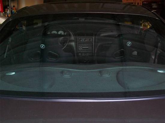 Mustang Corbeau Seats 7910 30