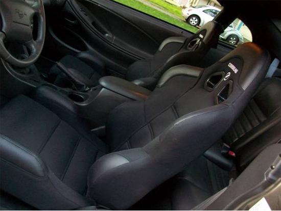 Mustang Corbeau Seats 7910 32