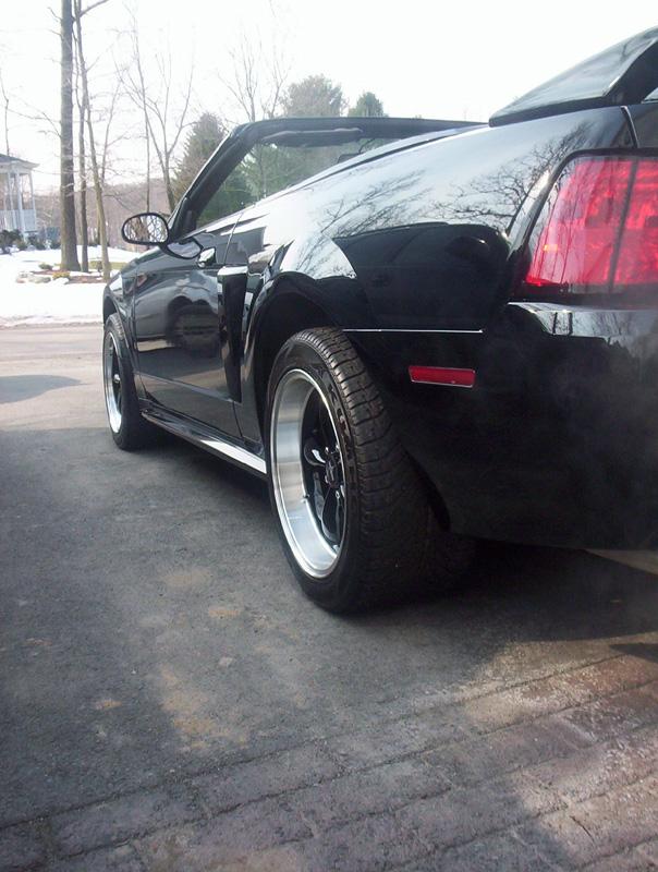 Black 2000 GT Vert Bullitts