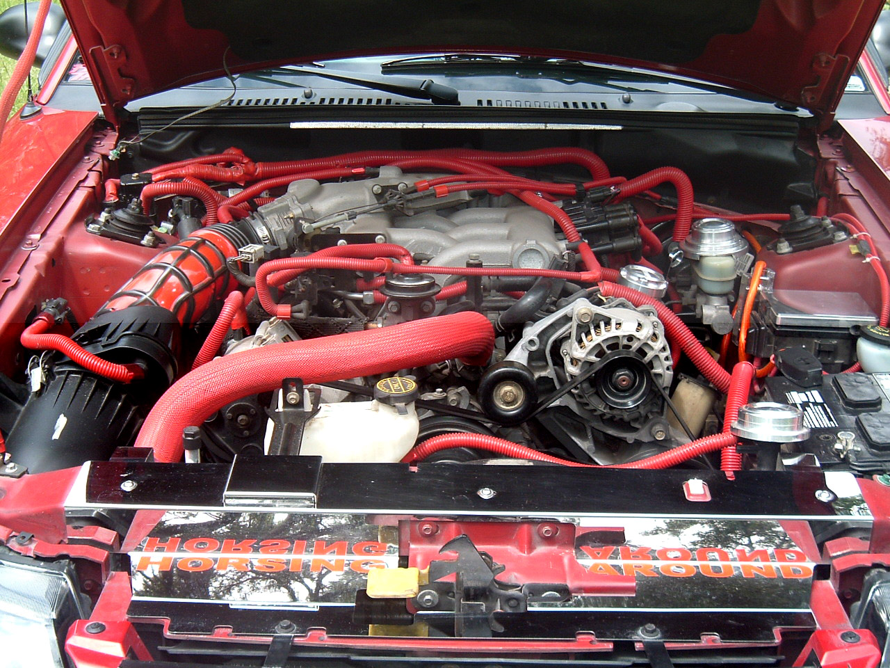 V6 Mustang