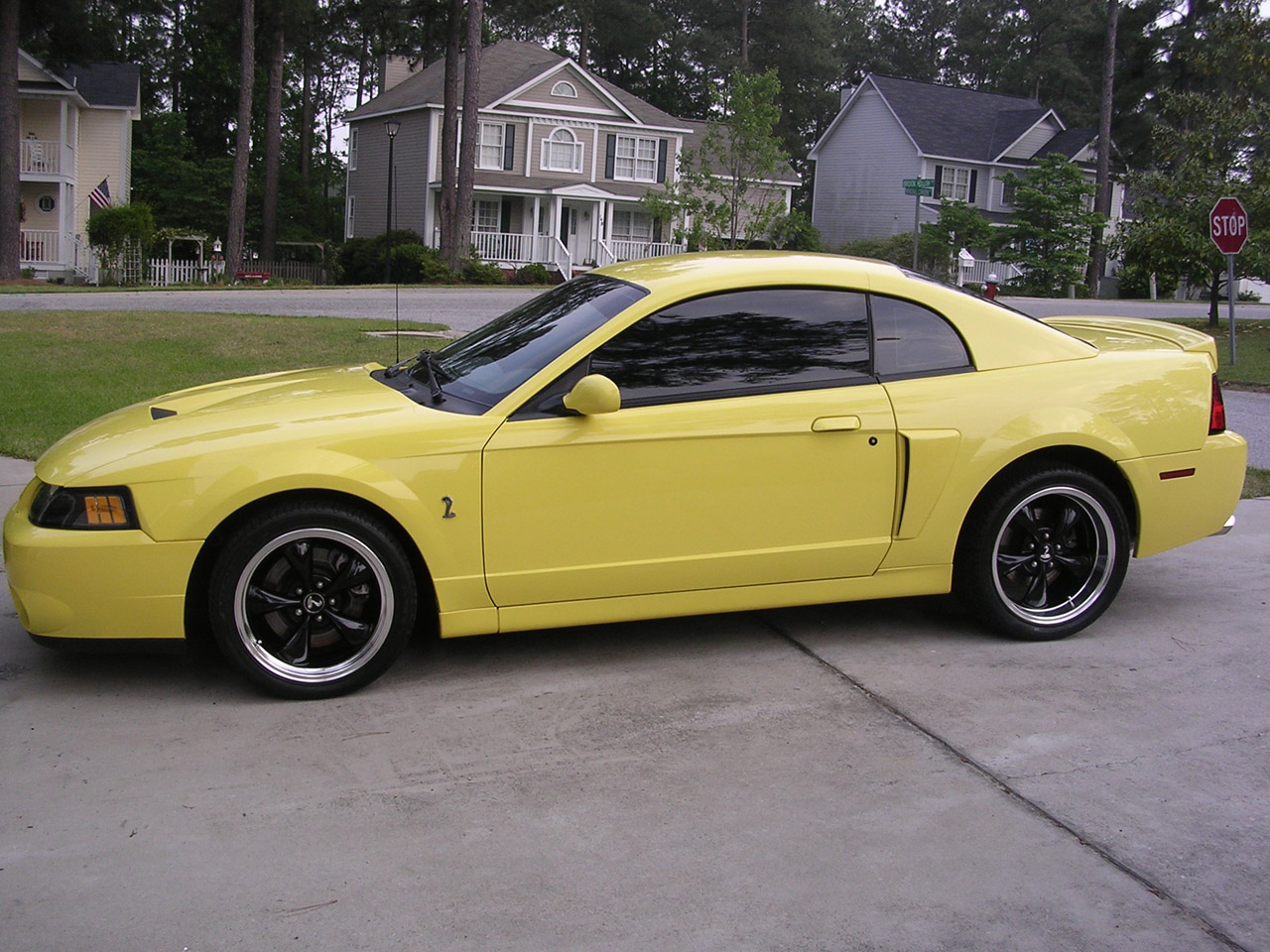 2003 Zinc Yellow SVT Cobra