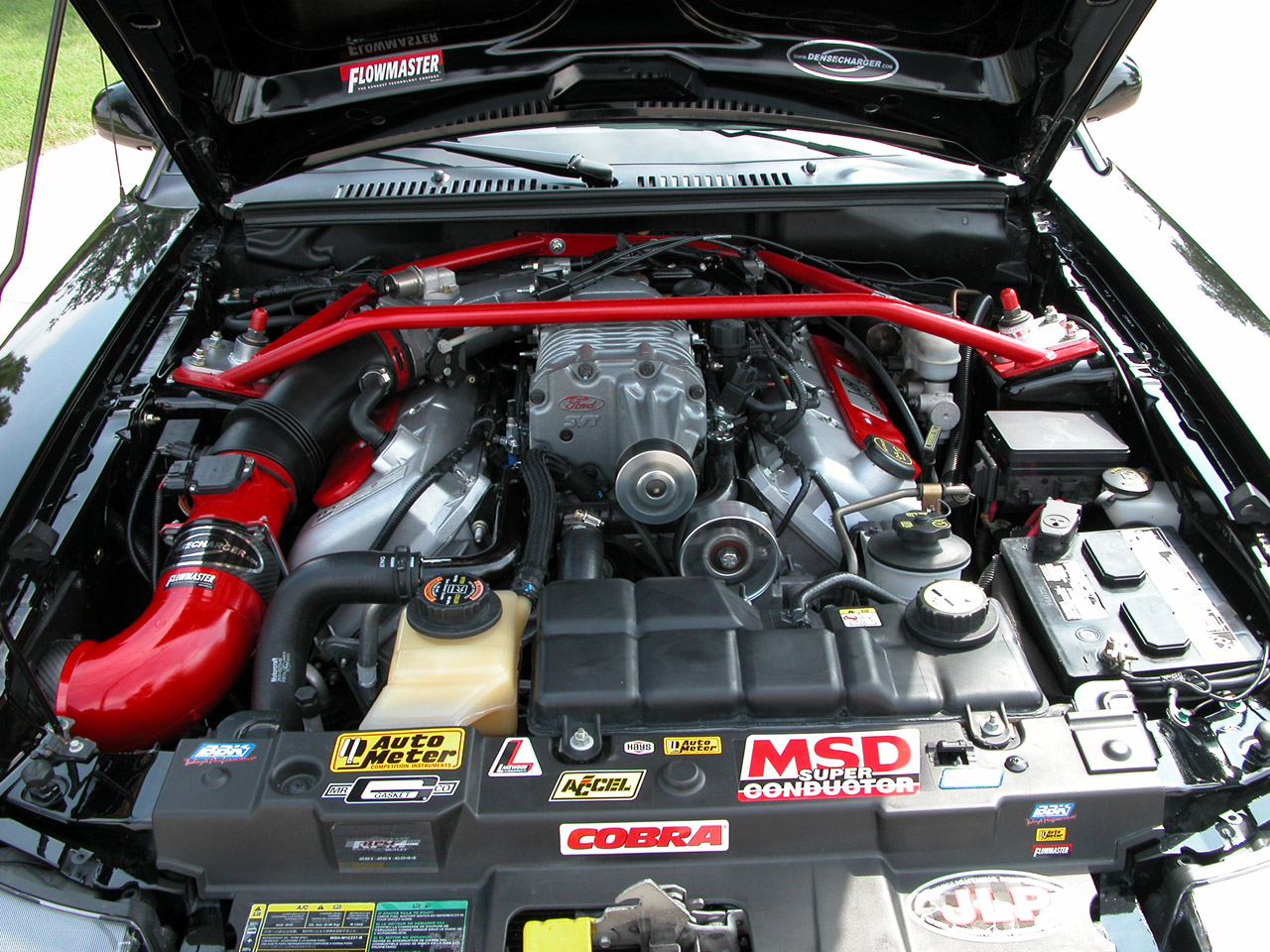 2003 SVT Cobra 10th Anniversary Engine