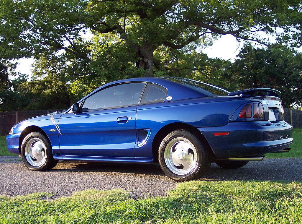 1997 Mustang GT Coupe - Royal Blue Metallic
