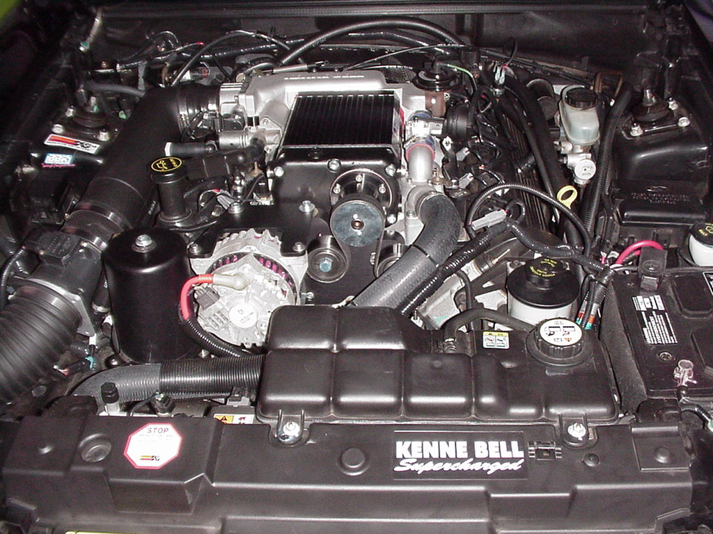2001 Mustang GT Engine
