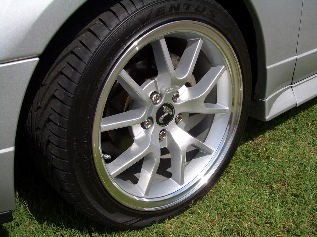 FR500 Rims Silver Mustang