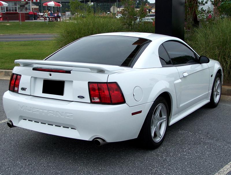 2003 White Mustang GT 5 Spd