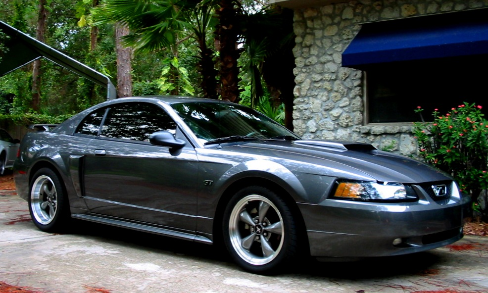 2003 Shadow Grey Mustang GT 5 Spd