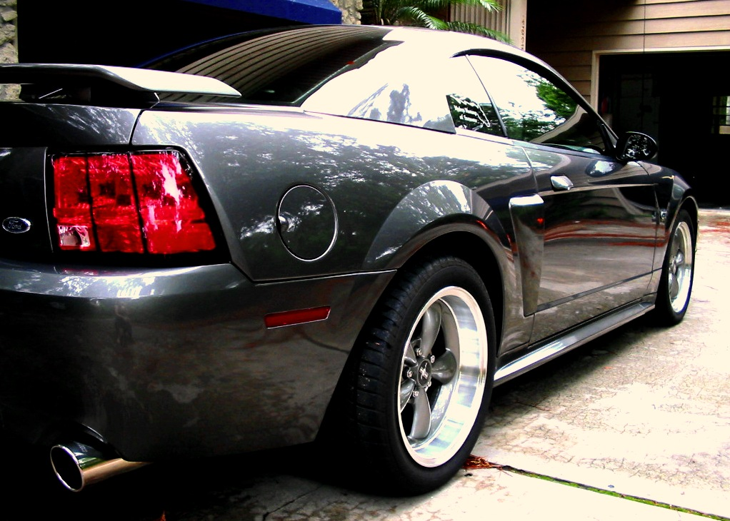 2003 Shadow Grey Mustang GT Bullitt