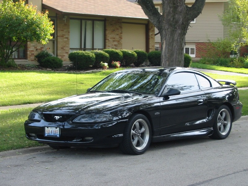 1998 Black Mustang GT Coupe