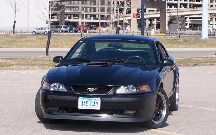 2001 Black Mustang GT