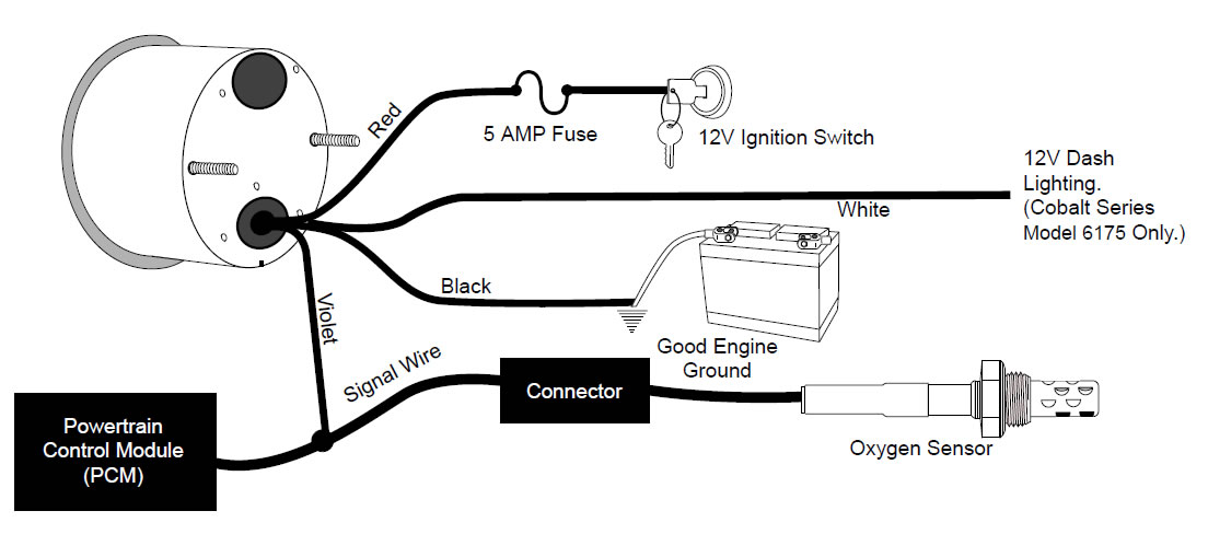 Autometer Airfuel Install on red cat wiring diagram