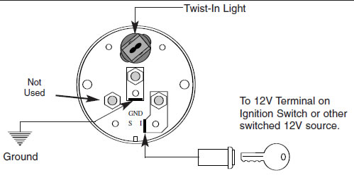 Autometer Volt Install on light switch wiring diagram power