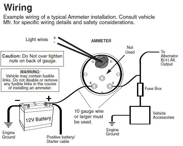 1 cdn lib americanmuscle com files guide 13503 05 jpg, circuit diagram, auto gauge wiring diagram