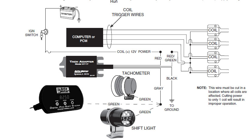 autometer tachometer wiring diagram wiring diagram and schematic vine sun tach wiring diagram diagrams collection