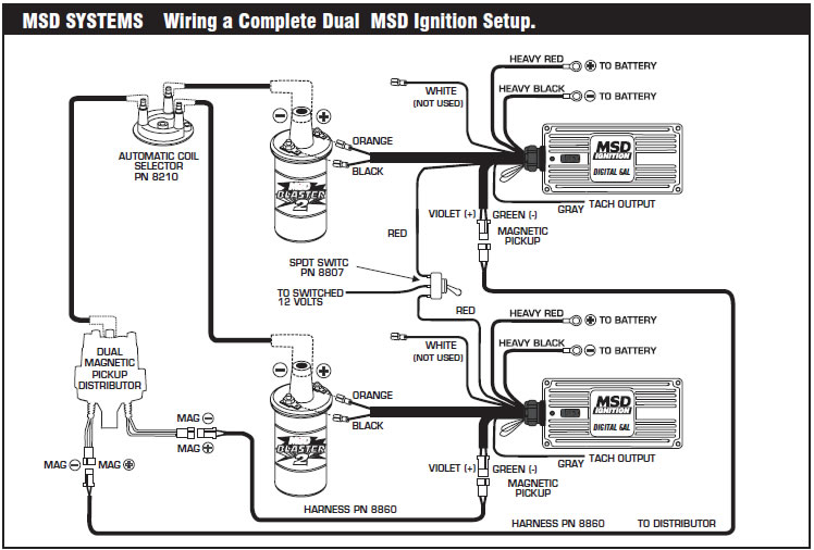 msd 6a 6200 wiring diagram  msd  free engine image for