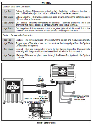 how to install an msd power grid 7 system on your 1979 1995 warning the msd power grid ignition is a capacitive discharge ignition high voltage is present at the coil primary terminals