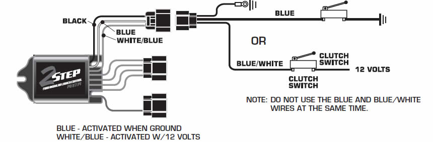 mustang msd 6al wiring diagram how to install a msd launch master 2 step rev limiter on a 2011 connect all msd 6al wiring diagram