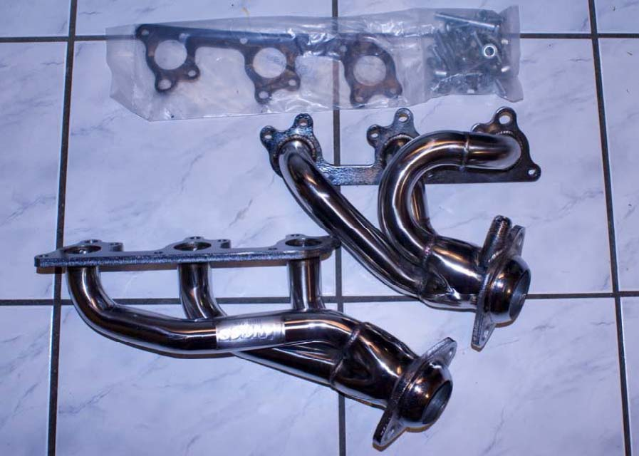 Pypes Polished Shorty Headers (05-10 V6) - 01