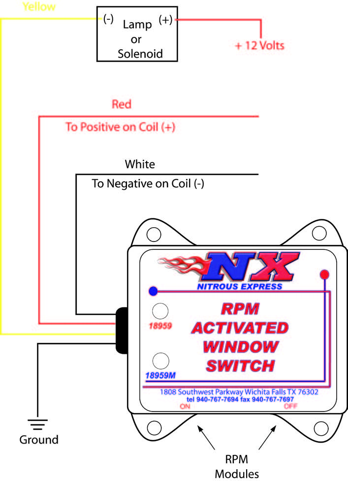 How To Install An Nx Digital Window Switch On Your 1986
