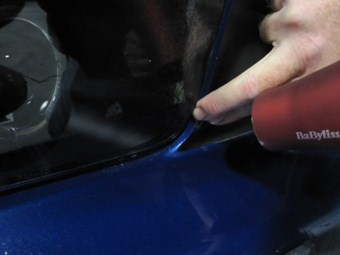 Vinyl Grille Pillar Blackouts (05-09 Mustang) - 04