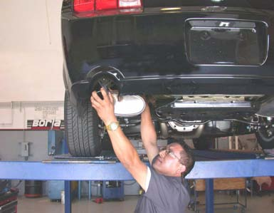 How to Install a Borla Stinger S-Type Axle-Back Exhaust on your 2005-2009 Mustang GT 06