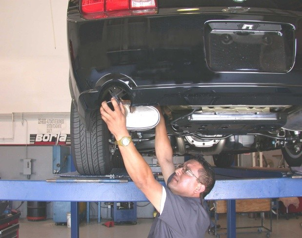 How to Install a Borla Stinger S-Type Catback Exhaust on your 2005-2009 Mustang GT 07