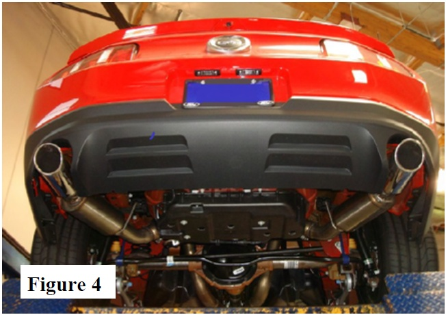 How to Install a Borla Axleback Exhaust on your 2011-2012 Mustang 05