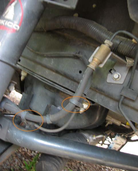 J&M Stainless Front Brake Lines (05-12 V6/GT) - 01