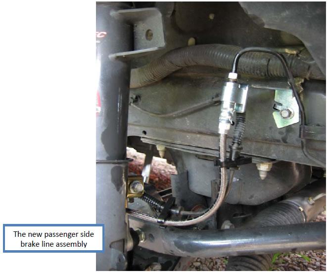 J&M Stainless Front Brake Lines (05-12 V6/GT) - 06