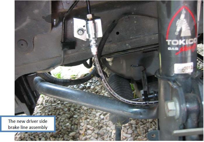 J&M Stainless Front Brake Lines (05-12 V6/GT) - 07