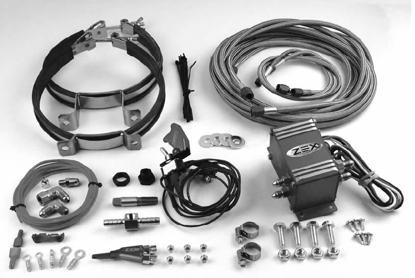 Zex-Wet-Injected-Nitrous-System-(86-04-V8)