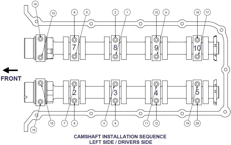 How to Install Comp Cams XFI NSR Camshafts on your 2011-2012 Mustang GT 14