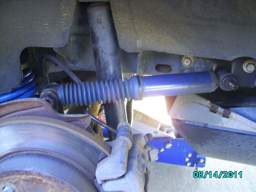 KYB Gas-a-Just Quad Shocks (94-04 GT, V6, Mach 1; 94-98 Cobra) - 04