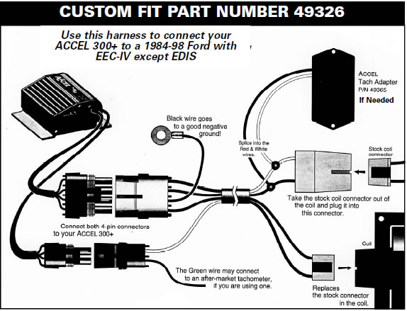 How to Install a Accel Performance Tach Adapter in your 1984-1995 Mustang 07