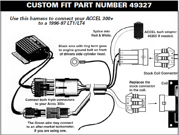 how to install a accel performance tach adapter in your 1984