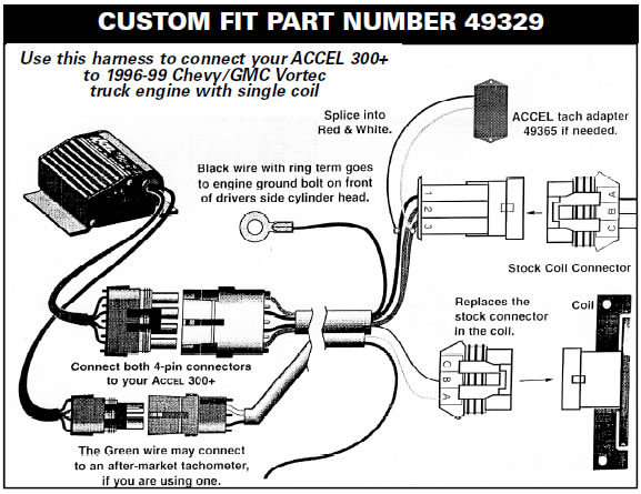 how to install a accel performance tach adapter on your 1984 1995 mustang americanmuscle