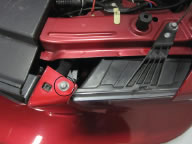 Painted Radiator Extension Covers (05-09 Mustang) - 02