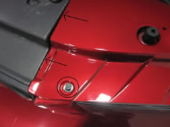 Painted Radiator Extension Covers (05-09 Mustang) - 03