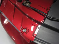 Painted Radiator Extension Covers (05-09 Mustang) - 05