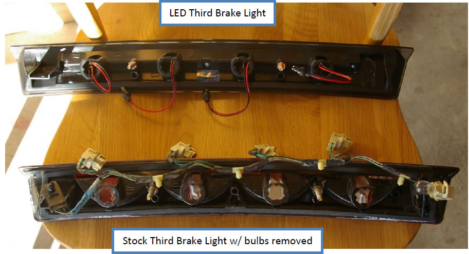 LED Third Brake Light (1999-2004) Excludes 2003-2004 Cobra) - 02
