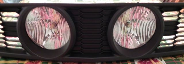 3DCARBON Eleanor Style Center Fog Light Grille - 07