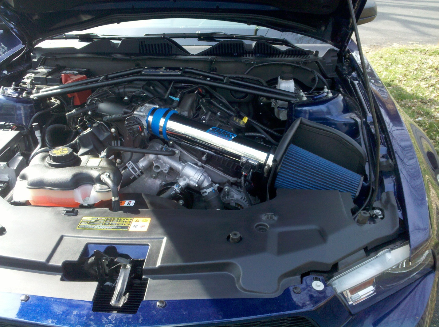 BBK Cold Air Intake � 2011-2012 V6 Mustang - 20