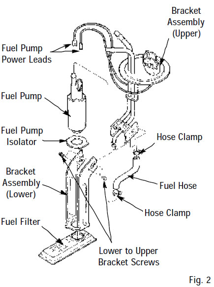 how to install an edelbrock fuel pump
