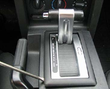 2005-09 Tru-Billet Automatic Shifter Bezel - 02
