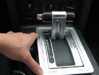 2005-09 Tru-Billet Automatic Shifter Bezel - 03