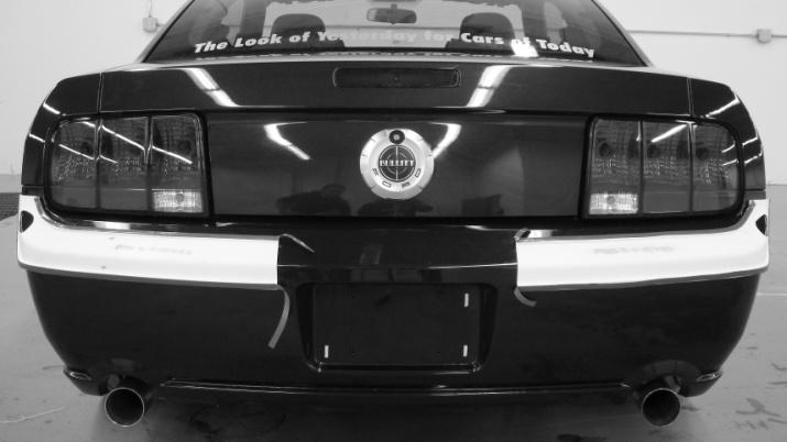 Retro-USA-Chrome-Rear-Bumper-Trim-(05-09-GT-V6)