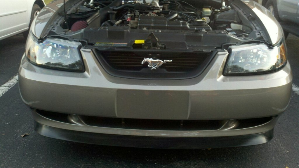 Front bumper cover - 15
