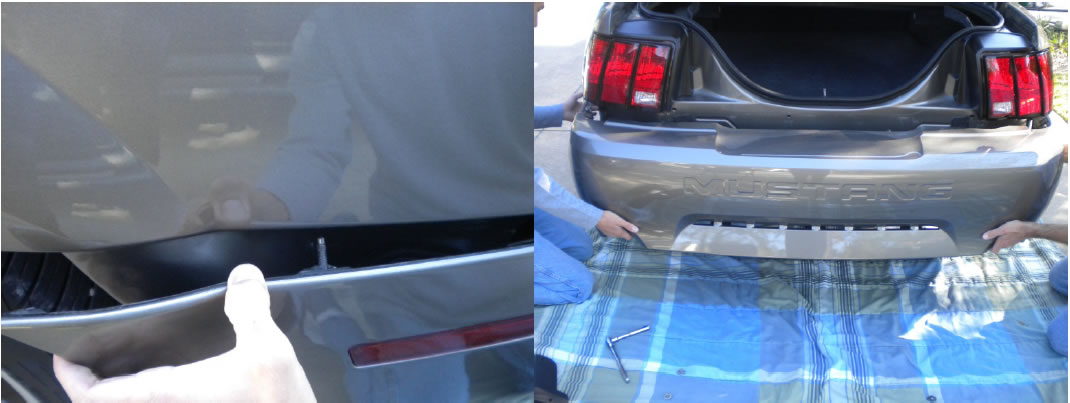 Rear Bumper Cover � Unpainted (1999-2004) - 10