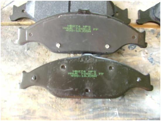 Hawk Street Front Brake Pads 9904 7